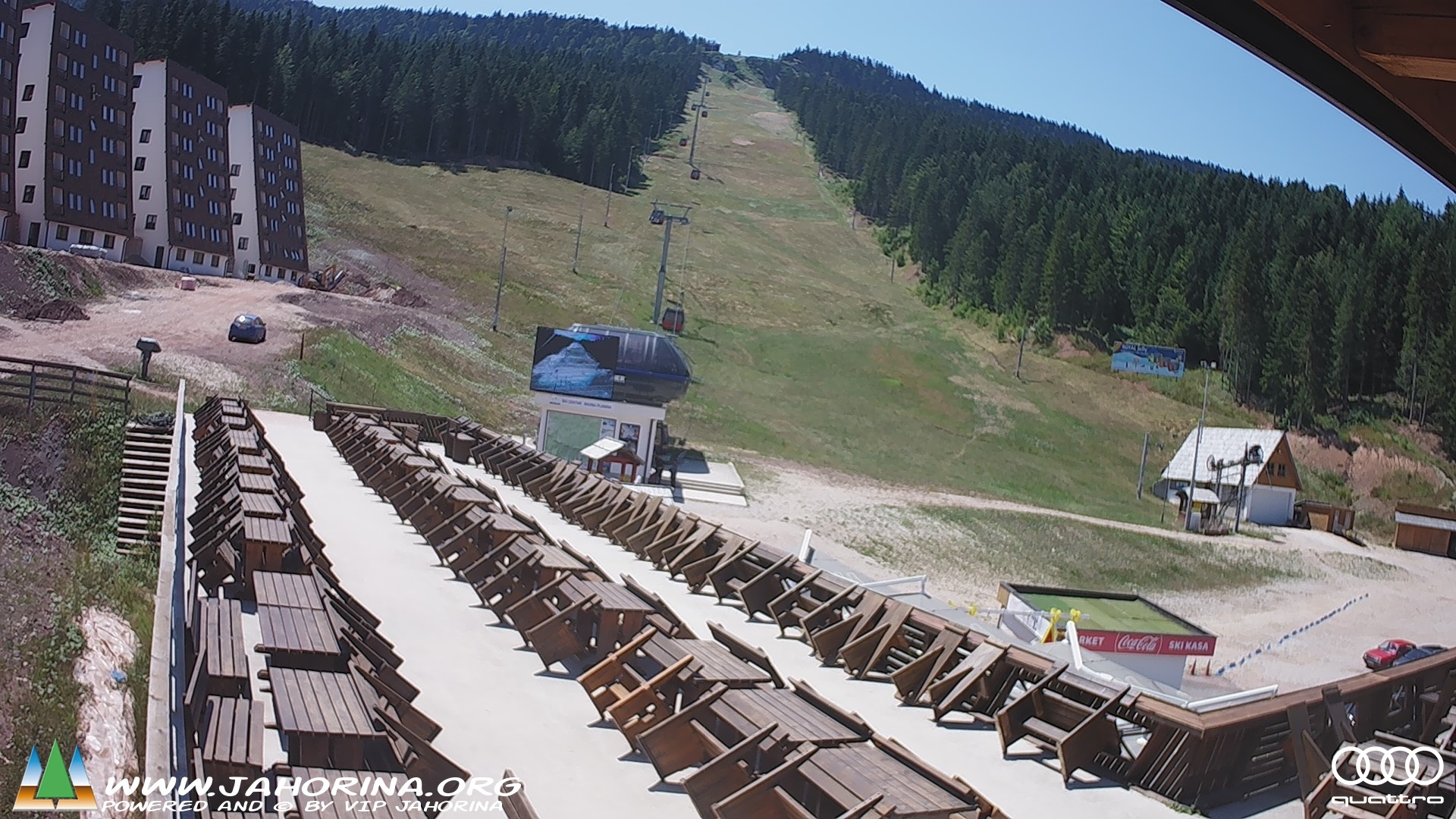 Web cam Ravna planina start station