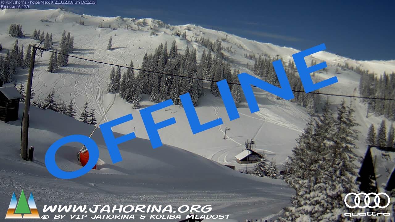 Webcam Jahorina Mladost