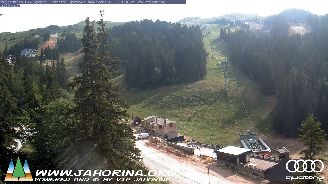 Web kamera Ogorjelica 1 Jahorina