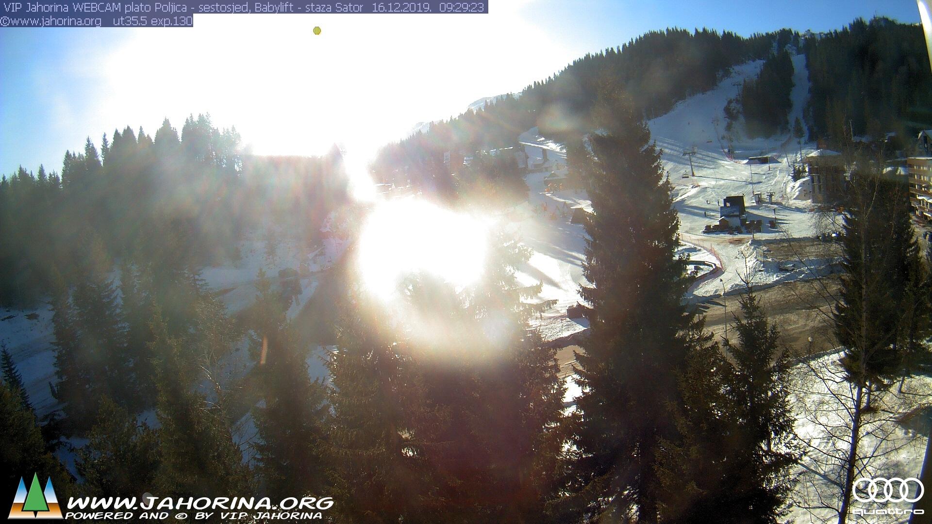 Webcam Jahorina - kamere sa pogledom na ski stazu na Jahorini