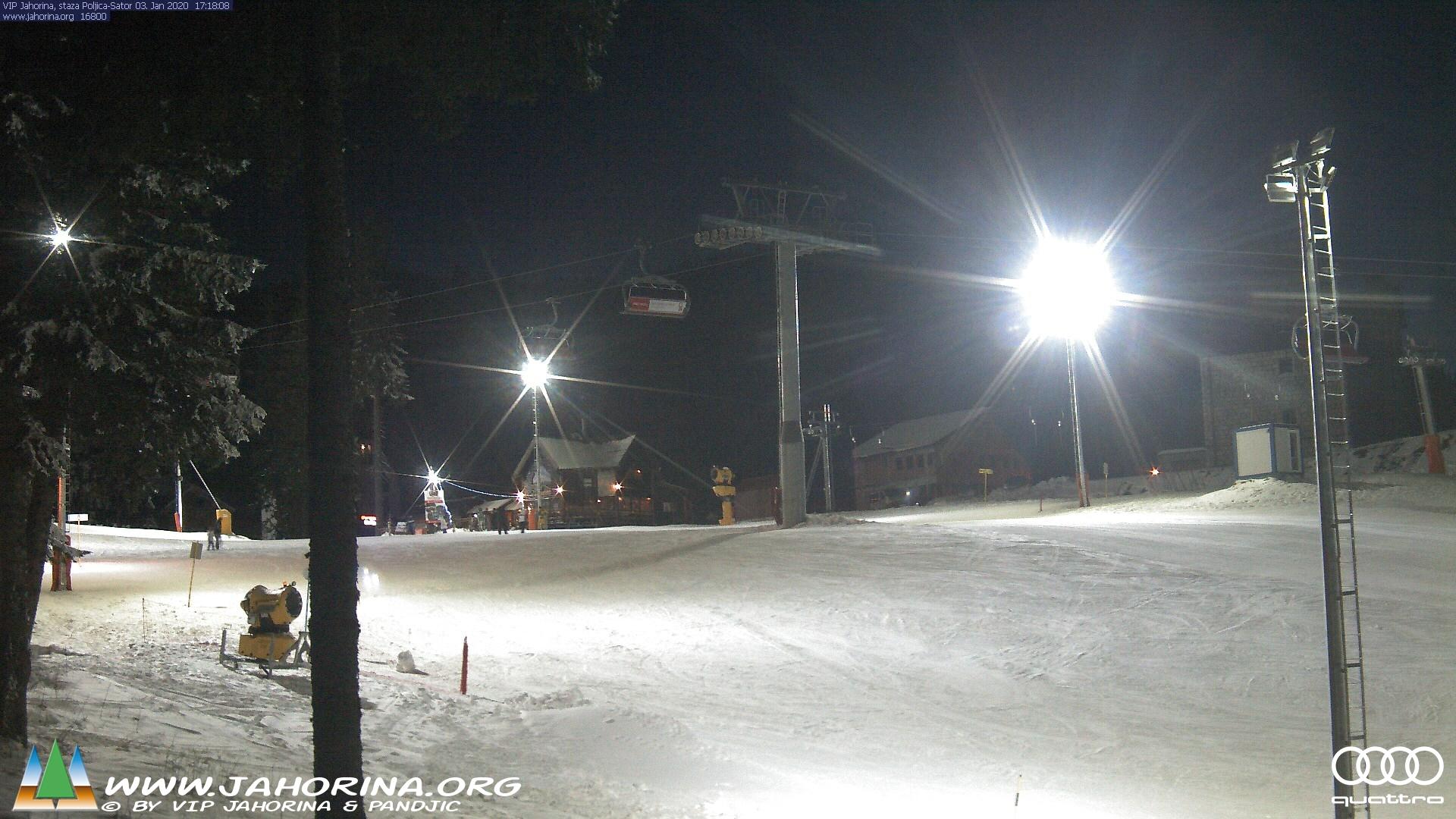 Webcam na stazi Poljica, naselje Šator