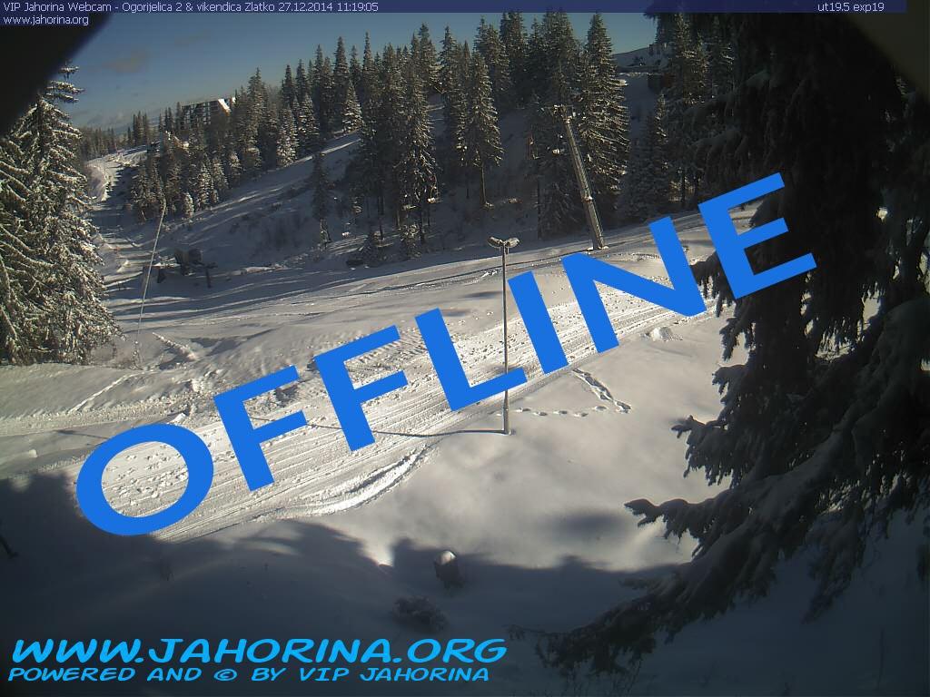 Webcam Jahorina Ogorjelica 2, Vikendica Zlatko