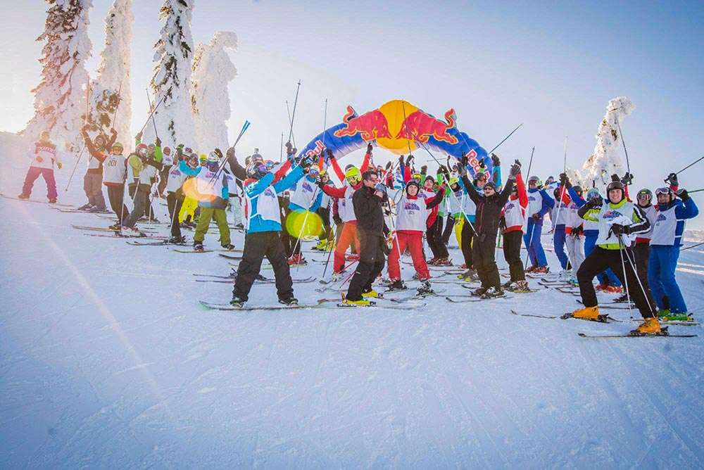 Start party RedBull Homerun Jahorina 2018